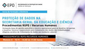 Procedimentos RGPD | Recursos Humanos SGEC