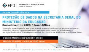 Procedimentos RGPD | Front Office
